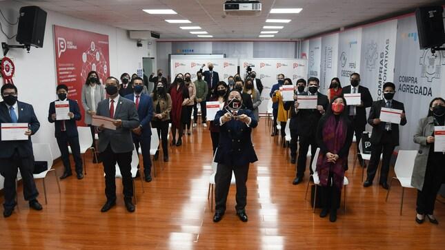PERÚ COMPRAS recibió reconocimientos por Premio a las Buenas Prácticas de Gestión Pública 2021