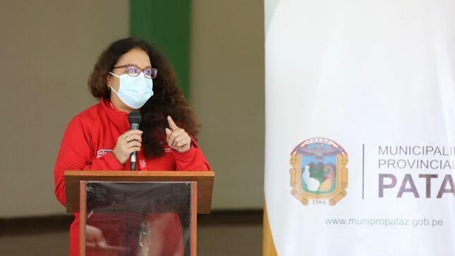 """Ministra Vargas: """"Agenda territorial de Pataz permitirá definir intervenciones articuladas para cerrar brechas en la provincia liberteña"""""""