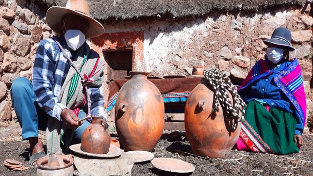 Los alfareros de Panahua