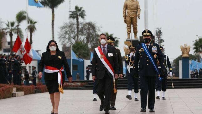 Presidente de la República encabezó ceremonia por el Día de la Fuerza Aérea del Perú