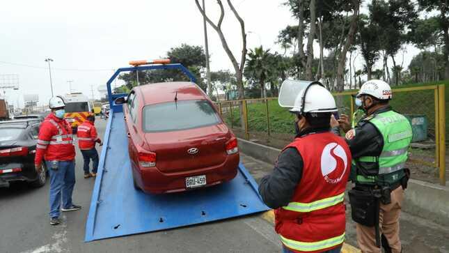 Ocho vehículos fueron enviados al depósito por realizar transporte de personas sin autorización