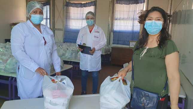 Qali Warma supervisa cuarta entrega de alimentos y verifica almacenes de instituciones educativas en Madre de Dios