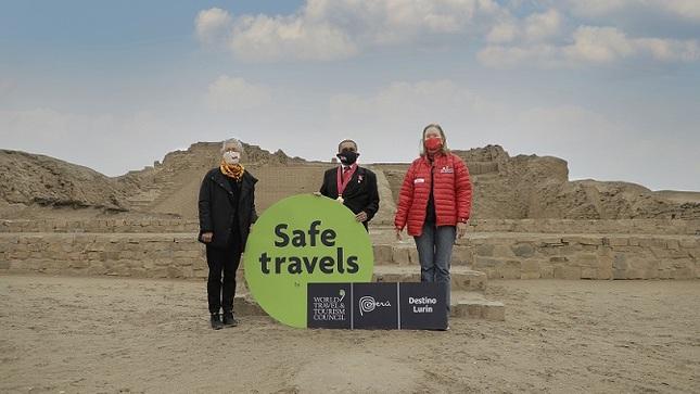 Destinos Pachacamac y Lurín obtuvieron el sello Safe Travels