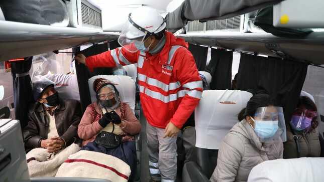 Viaje Seguro: Sutran ejecutó operativos simultáneos en terminales terrestres a nivel nacional