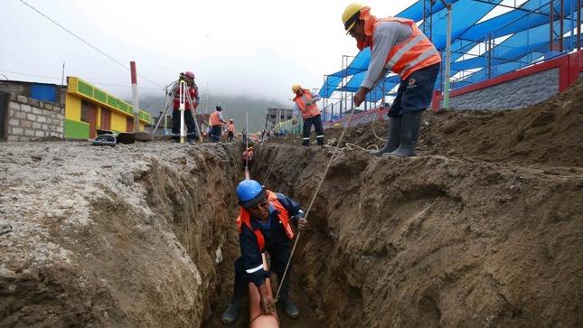 MVCS transfiere casi S/ 5 millones para garantizar financiamiento de obras de saneamiento