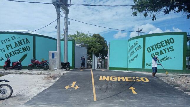 Gestión Sanjurjo, hoy inaugura Planta de Oxígeno de Maynas