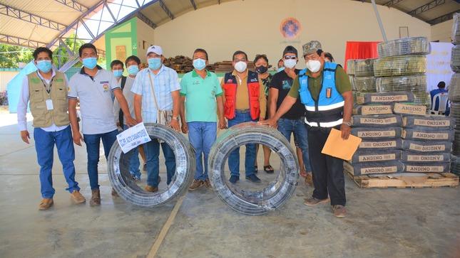Satipo: Entrega de equipos y materiales a las juntas administrativas de servicio y saneamiento