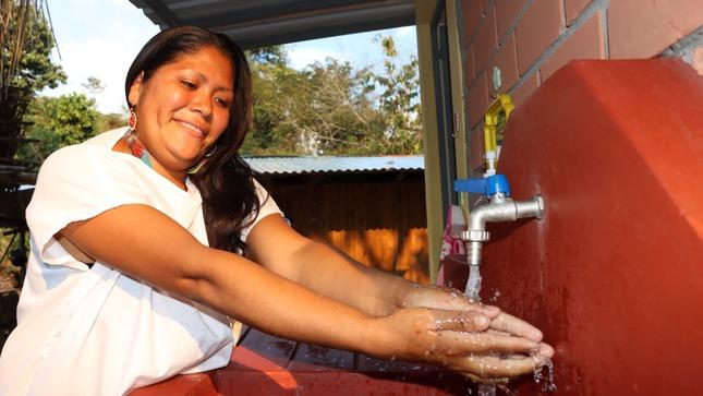 Junín: Ministerio de Vivienda inaugura obras de agua y saneamiento para familias indígenas de Mazamari
