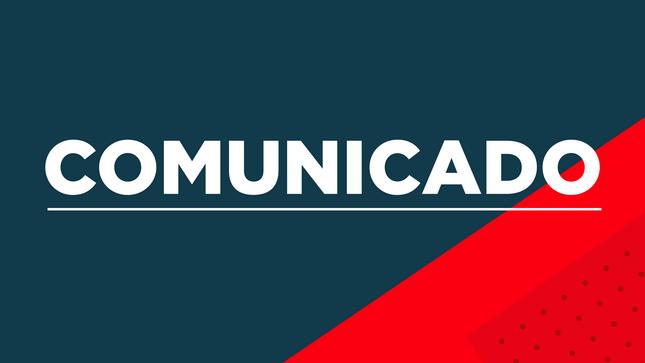 Comunicado - MTC