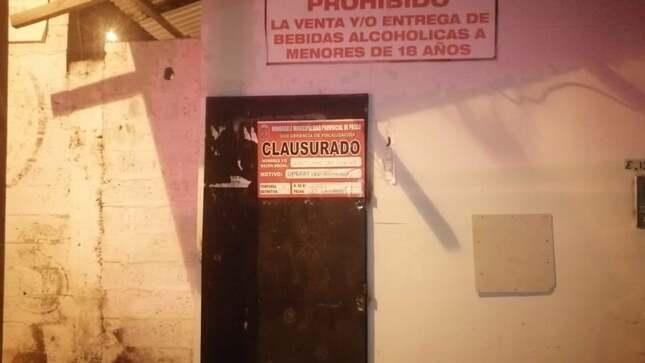 Municipalidad intervino prostíbulo clandestino a la salida de la ciudad