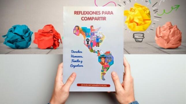 """Jueza Superior presenta libro """"Reflexiones para compartir derechos humanos, familia y coyuntura"""""""
