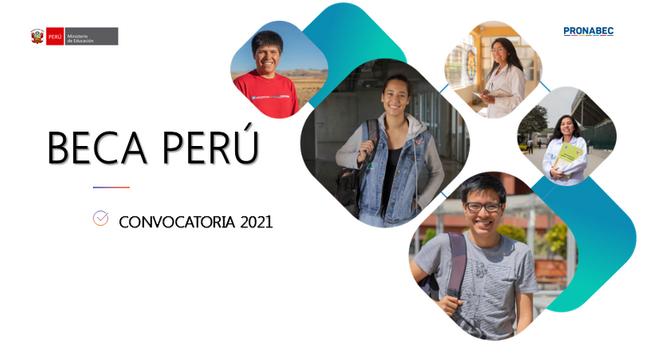 El Programa Nacional de Becas y Crédito Educativo, lanza la Beca Perú para Estudios Universitarios y técnico superior