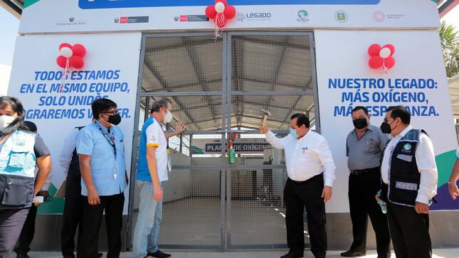 Mas de 100 mil habitantes de Ucayali se beneficiarán con planta de oxígeno importada por Legado