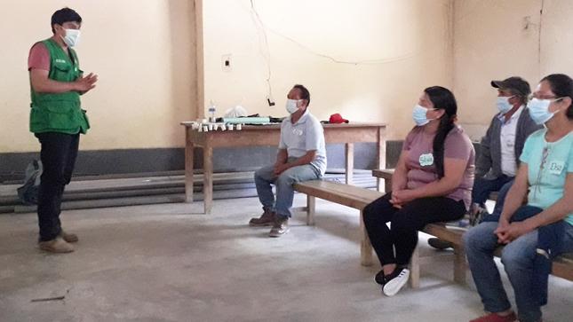 Agencia Agraria Bagua Culminó Serie de Capacitaciones de Fortalecimiento Organizacional en Centro Poblado San Isidro-La Peca
