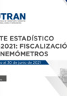 Vista preliminar de documento Reporte Estadístico N°009 - 2021: Fiscalización con Cinemómetros