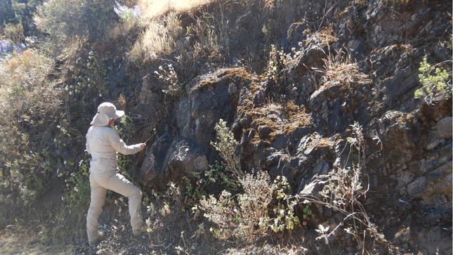 Ingemmet realizó estudios en la transición estratigráfica de la Cordillera Occidental a la Costa en el cuadrángulo de Huarochirí
