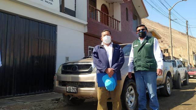 Autoridad Nacional del Agua entrega unidad vehicular a Junta de Usuarios de Pausa