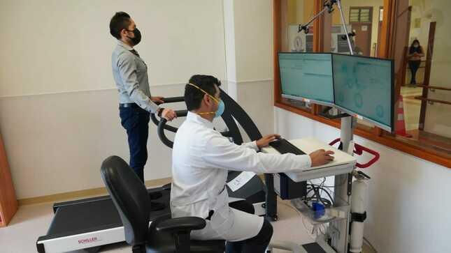 Instituto Nacional de Rehabilitación inaugura moderna unidad cardiorrespiratoria para pacientes COVID-19
