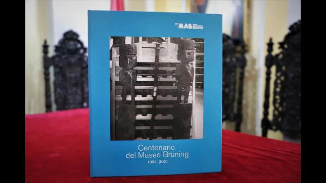"""Se presentó  libro """"Centenario del Museo Brüning: 1921-2021"""""""