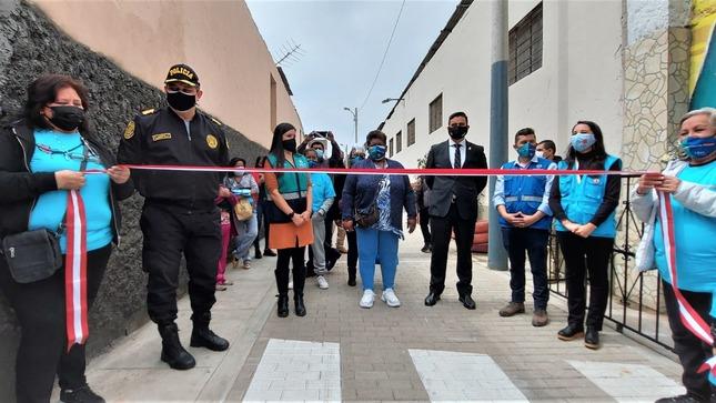 Barrios Altos: trabajo articulado entre autoridades y vecinos permite la recuperación de espacios públicos inseguros
