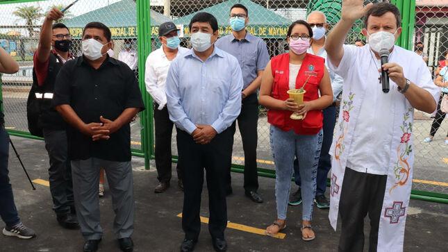 Alcalde Sanjurjo inauguró Planta de Oxígeno Medicinal