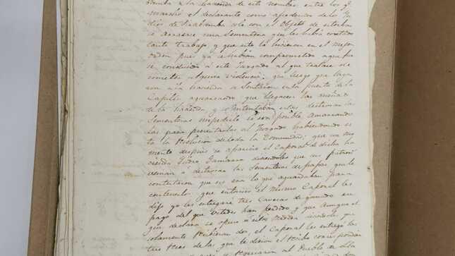 Manuscrito del Siglo XIX y principios del Siglo XX retorna al Perú desde Argentina