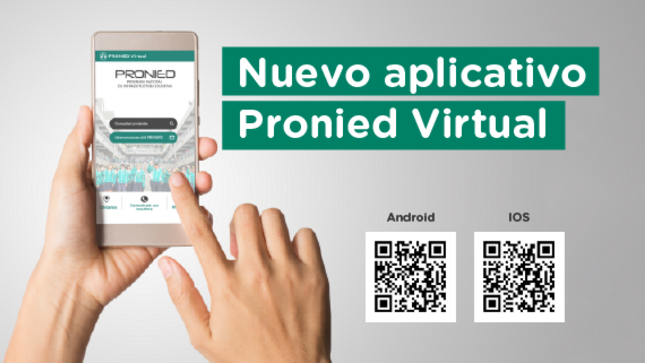Pronied lanza aplicativo para acceder a información de las intervenciones de mejora de la infraestructura educativa