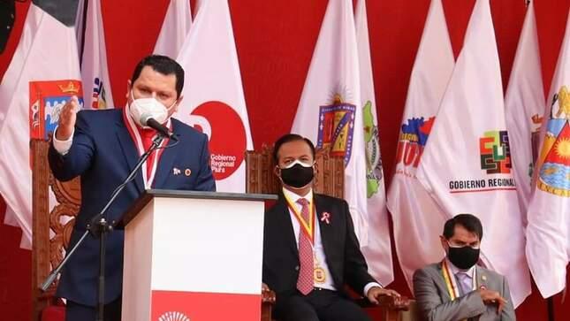 Gobernador participa de Misa Te Deum y Sesión Solemne por el Bicentenario del Perú