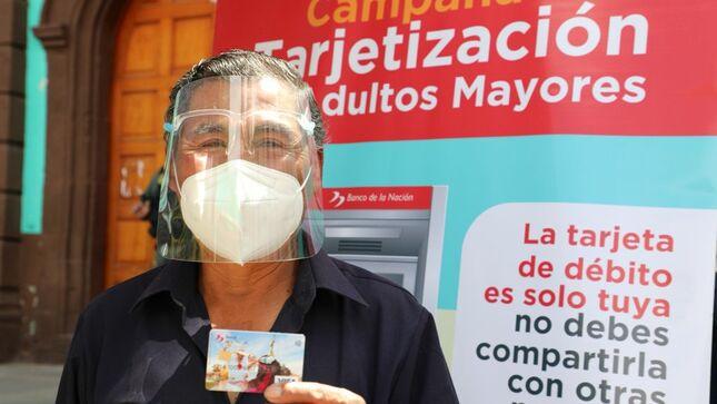 Midis impulsó la inclusión financiera de casi 630 mil hogares de Juntos y usuarios de Pensión 65 durante la pandemia
