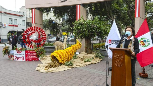 Floricultores del Perú se preparan para exportación de sus mejores productos a Brasil y nuevos mercados mundiales