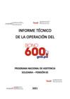 Vista preliminar de documento Informe Técnico de la Operación del Bono 600