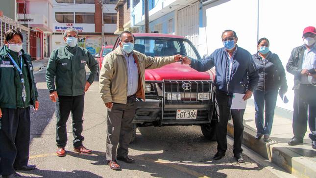 ANA entrega tres camionetas a juntas de usuarios de agua de las cuencas Mantaro y Ucayali