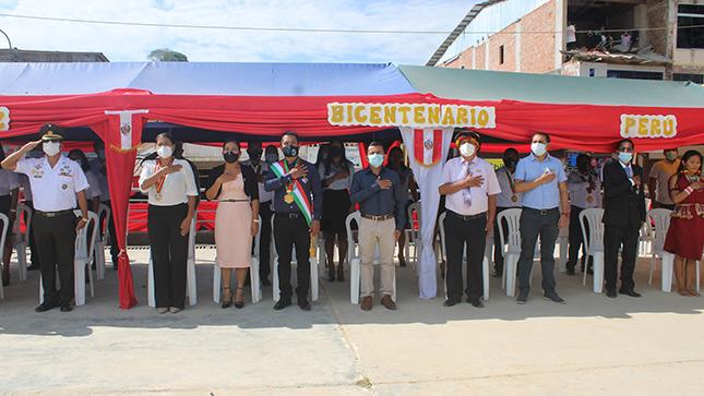 Condorcanqui conmemora los 200 Años de Independencia del Perú