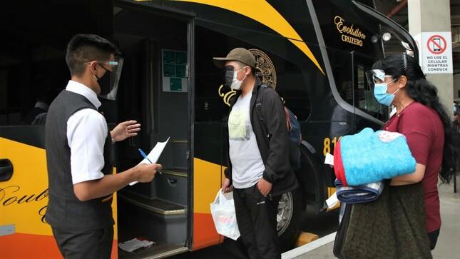 Consulta si la empresa de transportes en la que viajas está autorizada por el MTC