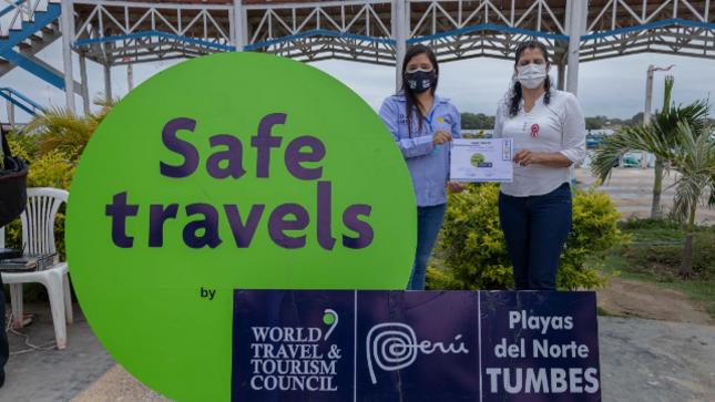 Gobierno Regional entrega sello Safe Travels a MPT y circuito de Puerto Pizarro