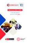 Vista preliminar de documento Memoria 2011-2021 del CONECTAMEF: Una década al servicio del país