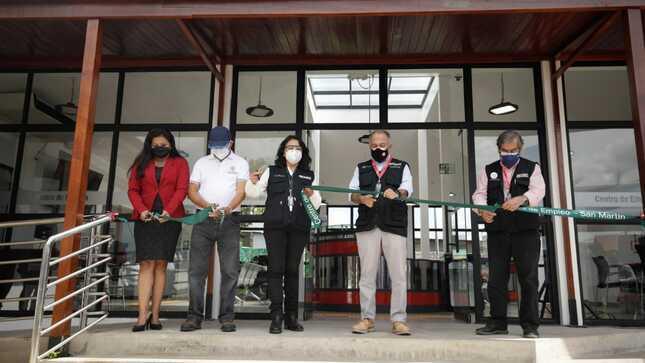 Inauguran nuevo local del Centro de Empleo en Moyobamba