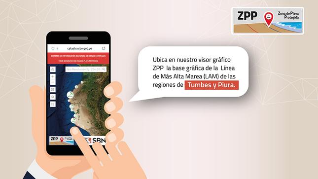 Se ha incorporado al ZPP la información gráfica  de la Línea de Más Alta Marea de la región Piura