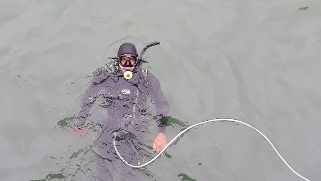 Tumbes: Imarpe monitorea temperatura del mar empleando sensores
