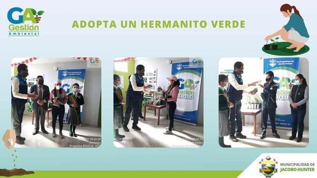 Adopta un Hermanito Verde