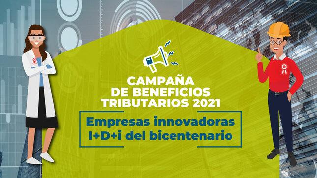 """El Concytec lanza campaña de Beneficios Tributarios 2021 """"Empresas Innovadoras I+D+i del Bicentenario"""""""
