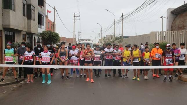 Carrera de Chasquis de relevo en el Bicentenario.