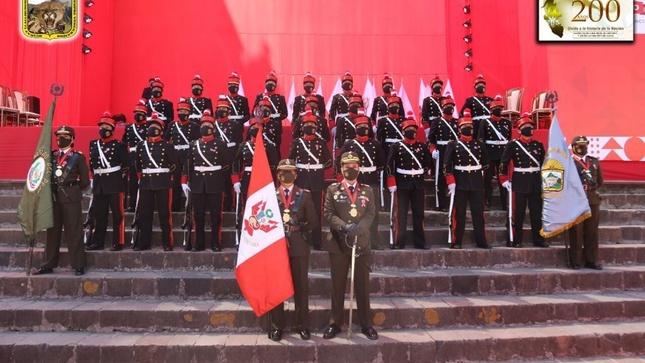 """Compañía Histórica """"Micaela Bastidas Puyucahua"""", hizo su presentación oficial en ceremonia por el Bicentenario de la Independencia Nacional"""