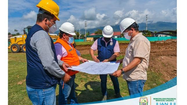 """Ya Inicio los Trabajos para la Construcción de la ALAMEDA TURÍSTICA """"FUNDADORES DE JUANJUÍ"""""""