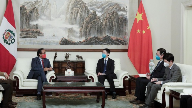 Ministro Sánchez destaca importancia de intensificar las relaciones comerciales con China