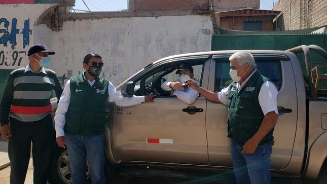 Autoridad Nacional del Agua entrega vehículo a  Gobierno Regional de Arequipa