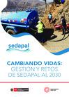 Vista preliminar de documento Cambiando vidas: Gestión y retos de Sedapal al 2030