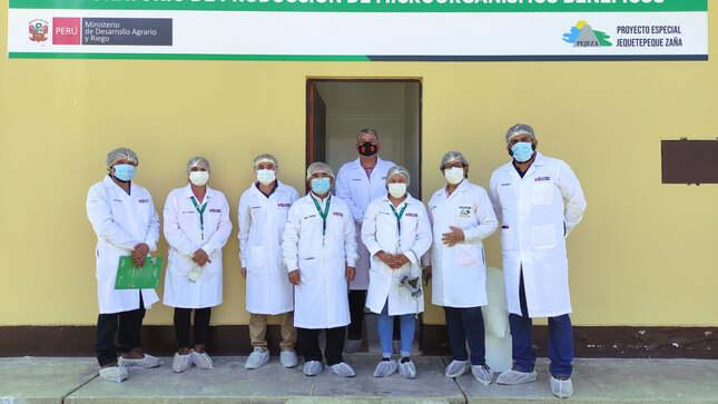PEJEZA recibe visita desde del Proyecto Especial CHAVIMOCHIC