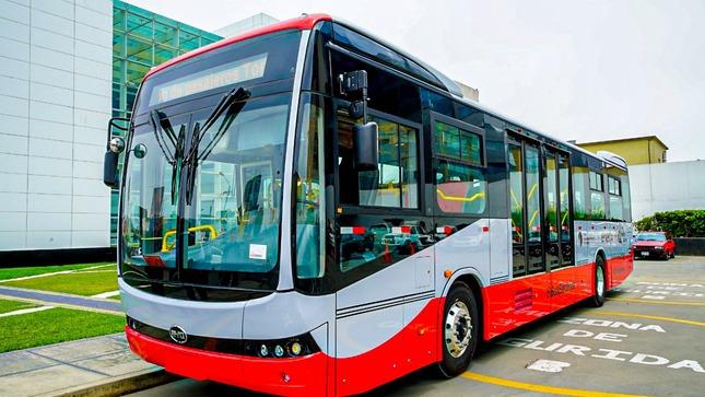 Conozca las especificaciones técnicas del bus patrón eléctrico para el Sistema Integrado de Transporte