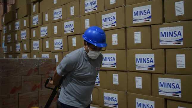 Ministerio de Salud envió 852.5 toneladas de suministros médicos contra la Covid-19